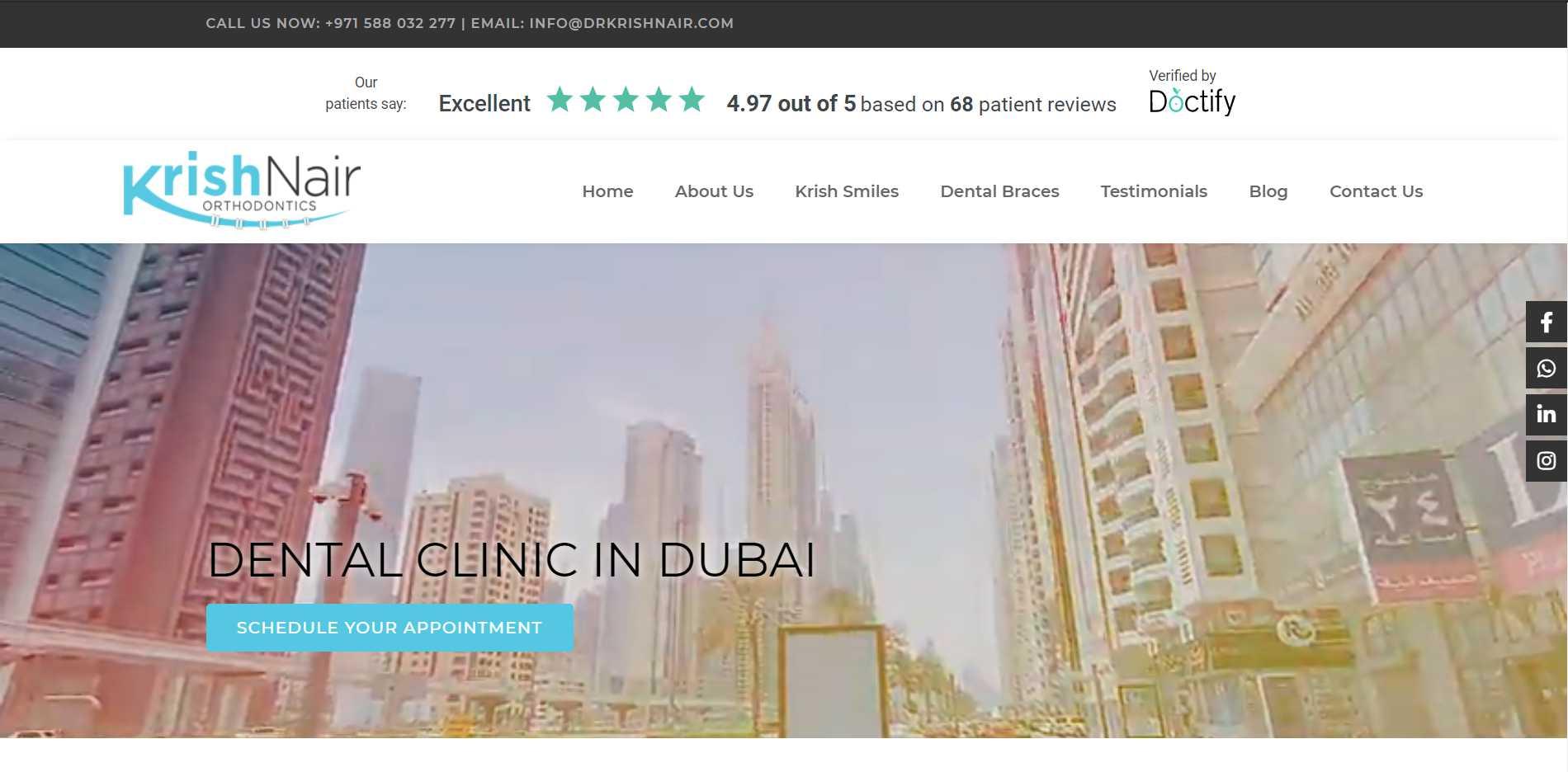 Dr Krish Nair Orthodontics